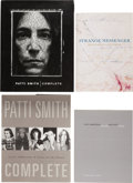 Books:Art & Architecture, Patti Smith. Collection. Including: Complete. New York:Doubleday, 1998. First edition. Signed by Smith on p. [3]....(Total: 4 Items)