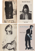 Books:Literature 1900-up, Patti Smith. Collection of Three Signed Short Works. Including:Seventh Heaven. [Philadelphia]: Telegraph Books,... (Total:4 Items)