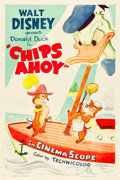 "Movie Posters:Animation, Chips Ahoy (RKO, 1956). One Sheet (27"" X 41"").. ..."