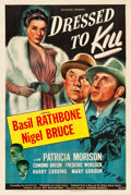 "Movie Posters:Mystery, Dressed to Kill (Universal, 1946). One Sheet (27.5"" X 41"").. ..."