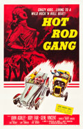 "Movie Posters:Exploitation, Hot Rod Gang (American International, 1958). One Sheet (26.75"" X41.75"").. ..."