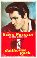 "Movie Posters:Elvis Presley, Jailhouse Rock (MGM, 1957). One Sheet (27"" X 41.5"").. ..."