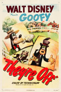"Movie Posters:Comedy, They're Off (RKO, 1948). One Sheet (27"" X 41"").. ..."