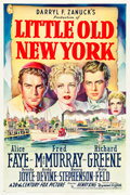 """Movie Posters:Comedy, Little Old New York (20th Century Fox, 1940). One Sheet (27.25"""" X41"""") Style A.. ..."""