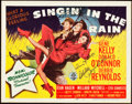 "Movie Posters:Musical, Singin' in the Rain (MGM, 1952). Autographed Title Lobby Card (11""X 14"").. ..."