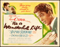 "Movie Posters:Fantasy, It's a Wonderful Life (RKO, 1946). Title Lobby Card (10 15/16"" X14"").. ..."