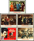 "Movie Posters:Elvis Presley, Jailhouse Rock (MGM, 1957). Title Lobby Card and Lobby Cards (4)(11"" X 14"").. ... (Total: 5 Items)"