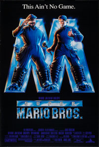 """Super Mario Bros. & Other Lot (Buena Vista, 1993). One Sheets (2) (27"""" X 40"""") DS. Action. ... (Total:..."""