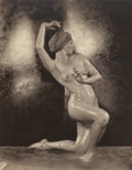 Photographs, NICHOLAS MURAY (Hungarian, 1892-1965). Nude, 1925. Platinum. 9-1/2 x 7-5/8 inches (24.1 x 19.4 cm). Signed and dated in ...