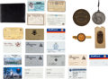 Golf Collectibles:Miscellaneous, Various Travel Related Items From The Sam Snead Collection....