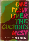 Books:Literature 1900-up, Ken Kesey. One Flew Over the Cuckoo's Nest. New York: TheViking Press, [1962]. First edition, first state with the ...