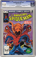 Modern Age (1980-Present):Superhero, The Amazing Spider-Man #238 Double Cover (Marvel, 1983) CGC NM/MT9.8 Off-white to white pages. We've seen demand for top-gr...