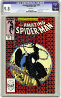 Modern Age (1980-Present):Superhero, The Amazing Spider-Man #300 (Marvel, 1988) CGC NM/MT 9.8 Whitepages. This copy's page quality sets it apart from some of th...