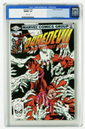 Modern Age (1980-Present):Superhero, Daredevil CGC Group (Marvel, 1982-83). All but one of these comicsare CGC-certified 9.8, and all have white pages unless ot...(Total: 6 Comic Books)