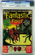 Silver Age (1956-1969):Superhero, Fantastic Four #11 (Marvel, 1963) CGC NM- 9.2 Cream to off-white pages. High-grade copies of this issue have been changing h...