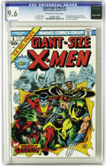 Bronze Age (1970-1979):Superhero, Giant-Size X-Men #1 (Marvel, 1975) CGC NM+ 9.6 Off-white to whitepages. The first appearance of the new X-Men is now the se...