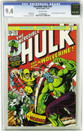 Bronze Age (1970-1979):Superhero, The Incredible Hulk #181 (Marvel, 1974) CGC NM 9.4 Off-white pages.Any Bronze Age buff would love this NM copy of the first...