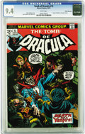 Bronze Age (1970-1979):Horror, Tomb of Dracula #13 White Mountain pedigree (Marvel, 1973) CGC NM9.4 White pages. While most collectors associate the White...