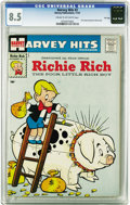 Silver Age (1956-1969):Humor, Harvey Hits #3 Richie Rich - File Copy (Harvey, 1957) CGC VF+ 8.5 Cream to off-white pages. This is the first comic book dev...