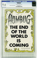 Golden Age (1938-1955):Humor, Humbug #1 (Humbug, 1957) CGC NM+ 9.6 Off-white to white pages. Harvey Kurtzman's post-Mad comic may not have lasted, but...