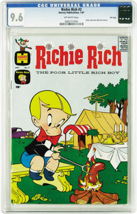 Richie Rich #2 File Copy (Harvey, 1961) CGC NM+ 9.6 Off-white pages. We present to you the one and only 9.6 that CGC has...
