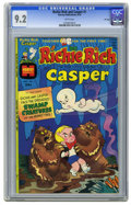 Bronze Age (1970-1979):Cartoon Character, Richie Rich and Casper #1 File Copy (Harvey, 1974) CGC NM- 9.2White pages. Ernie Colon cover. Overstreet 2006 NM- 9.2 value...