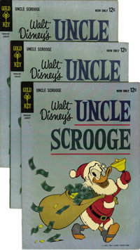 Uncle Scrooge #40 Multiple Copies Group (Gold Key, 1962) Condition: Average VF. Nineteen copies of this issue are includ...