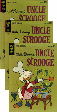 Uncle Scrooge #43 Multiple Copies Group (Gold Key, 1963) Condition: Average VF. Sixteen copies are included here. Overst...