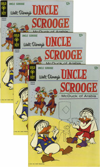 Uncle Scrooge #55 Multiple Copies (Gold Key, 1965) Condition: Average VF. Twenty copies are included here. Overstreet 20...