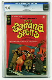 Banana Splits #1 File Copy (Gold Key, 1969) CGC NM 9.4 Off-white pages. Photo cover. Overstreet 2006 NM- 9.2 value = $19...