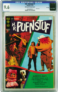 H.R. Pufnstuf #1 File Copy (Gold Key, 1970) CGC NM+ 9.6 Off-white to white pages. For any kid who grew up in the 1970s...