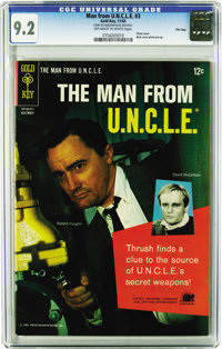 """Man from U.N.C.L.E. File Copies CGC Group (Gold Key, 1965-69). Why buy one """"Solo"""" book when you can get a whol..."""