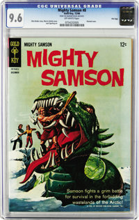 "Mighty Samson #2 and 7-20 File Copies CGC Group (Gold Key, 1965-69). All issues in this group are CGC 9.6 with ""off..."