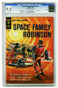 Space Family Robinson File Copies CGC Group (Gold Key, 1965-68). All issues are CGC 9.2 except for one 9.6 as noted belo...