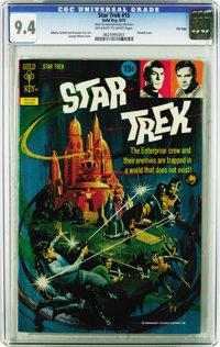 "Star Trek File Copies CGC Group (Gold Key, 1968-79). All issues in this group are certified with ""off-white to whit..."
