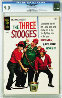 Three Stooges File Copies CGC Group (Gold Key, 1965-71). Hey Moe, all issues in this group are CGC 9.0 and certified wit...