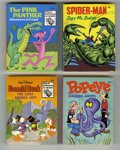 Bronze Age (1970-1979):Miscellaneous, Big Little Book File Copies Box Lot (Whitman, 1974-75) Condition:Average VF/NM. All copies in this group have a 49¢ cover p...(Total: 13)