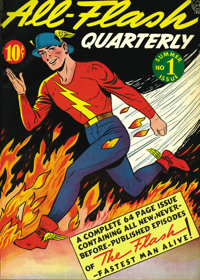 All-Flash #1-12 Bound Volume (DC, 1941-43). We can't say for sure if this All-Flash volume originated from DC or perhaps...