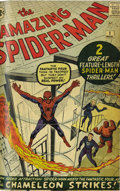 Silver Age (1956-1969):Superhero, The Amazing Spider-Man #1-16 Bound Volume (Marvel, 1962-64). Thisset of professionally trimmed and bound issues comes wrapp...