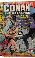 Bronze Age (1970-1979):Miscellaneous, Conan the Barbarian #1-12 Bound Volume (Marvel, 1970-71). This is aprofessionally bound book featuring the first twelve iss...