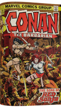 Bronze Age (1970-1979):Miscellaneous, Conan the Barbarian #13-24 Bound Volume (Marvel, 1971-73). TheBarry Smith era of Conan continues in this professionally...
