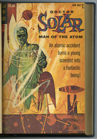 Doctor Solar #1-27 Bound Volumes (Gold Key, 1962-69). Trimmed mid-grade copies bound into two blue hardcover volumes. Co...