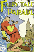 Golden Age (1938-1955):Humor, Fairy Tale Parade #1-9 Bound Volume (Dell, 1942-44). The beautiful art of Walt Kelly is showcased in this fantastic volume o...