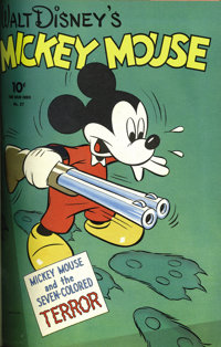 Four Color #25-36 Bound Volume (Dell, 1943-44). The fun continues with this third volume of Four Color (second series) i...