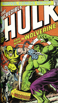The Incredible Hulk #161-200 Plus Bound Volumes (Marvel, 1972-76). The first three appearances of Wolverine in #180, 181...