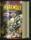 Bronze Age (1970-1979):Horror, Werewolf by Night #1-35 Plus Bound Volumes (Marvel, 1972-75). Inaddition to issues #1-35, these two bound volumes contain ...(Total: 2)