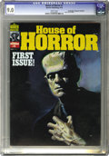 Magazines:Horror, House of Horror #1 (Warren, 1978) CGC VF/NM 9.0 White pages. This is an ashcan for all intents and purposes, and it's one of...