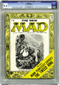 Magazines:Mad, Mad #25 (EC, 1955) CGC NM 9.4 Cream to off-white pages. This issue had Al Jaffee's first contribution to the magazine, and i...