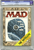 """Magazines:Mad, Mad #26 (EC, 1955) CGC NM 9.4 Off-white pages. The men of Madsatirize """"The Seven Year Itch"""" with Marilyn Monroe (and do..."""