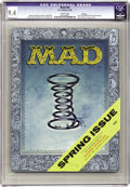 Magazines:Mad, Mad #28 Spokane pedigree (EC, 1956) CGC NM 9.4 White pages. Thiswas the last issue edited by Harvey Kurtzman. The art is by...